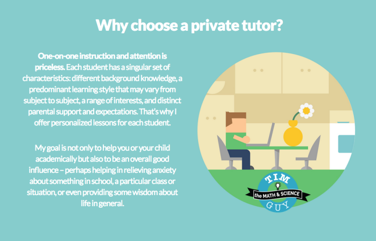 why choose private tutor