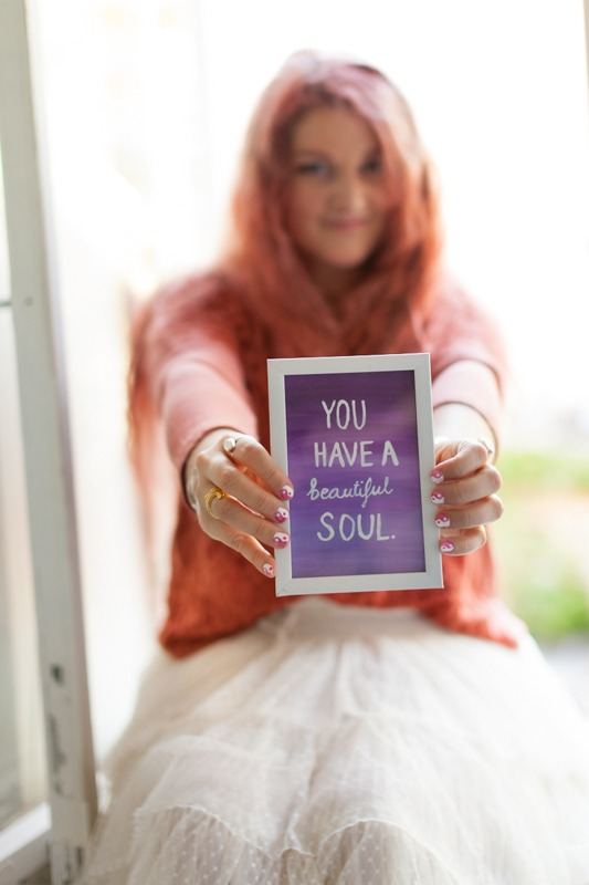 You have a beautiful soul - Bhakti Creative web design - Bhakti Kulmala