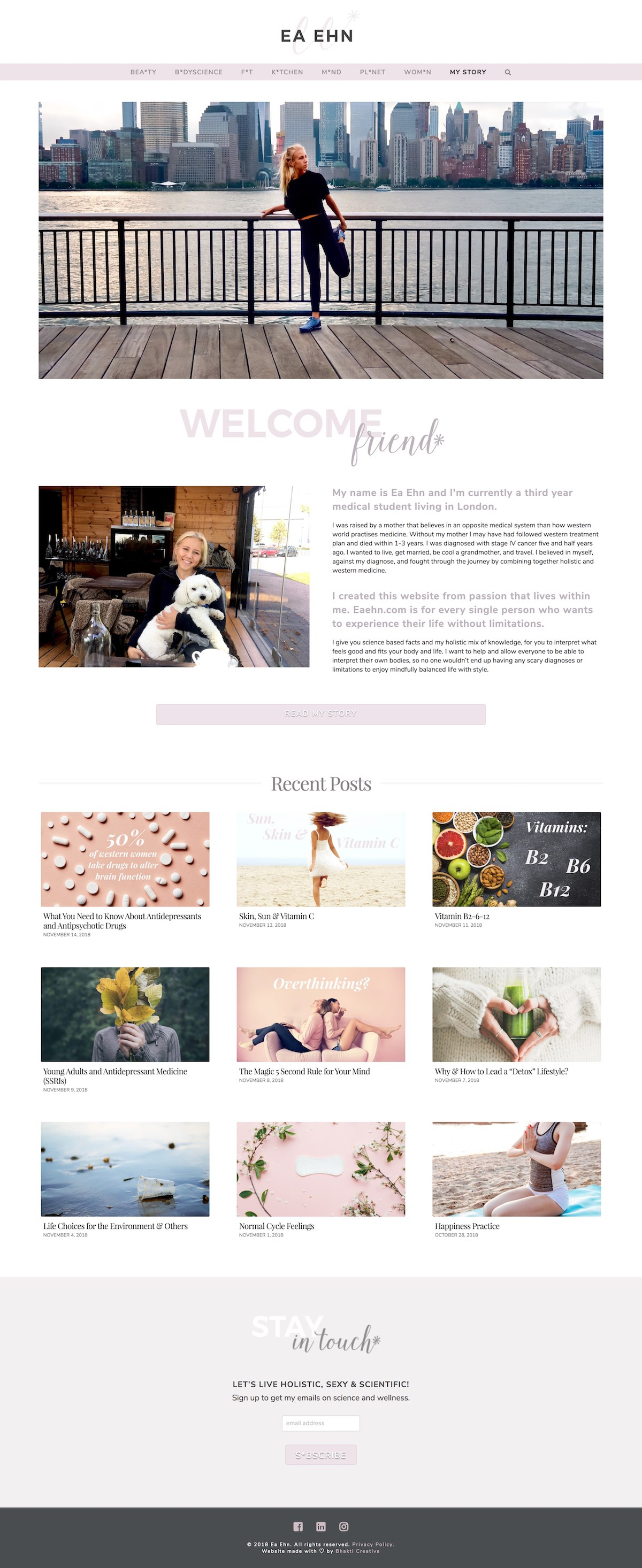 eaehn-web-design-for-influencers-in-wellness