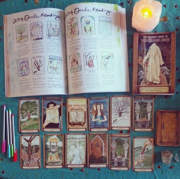 Tarot cards for new year