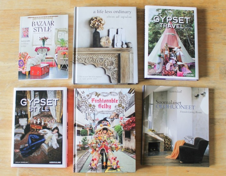 Bohemian decor and style books - Bhakti Creative