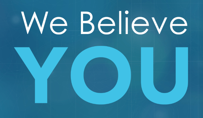 we believe you - rainn