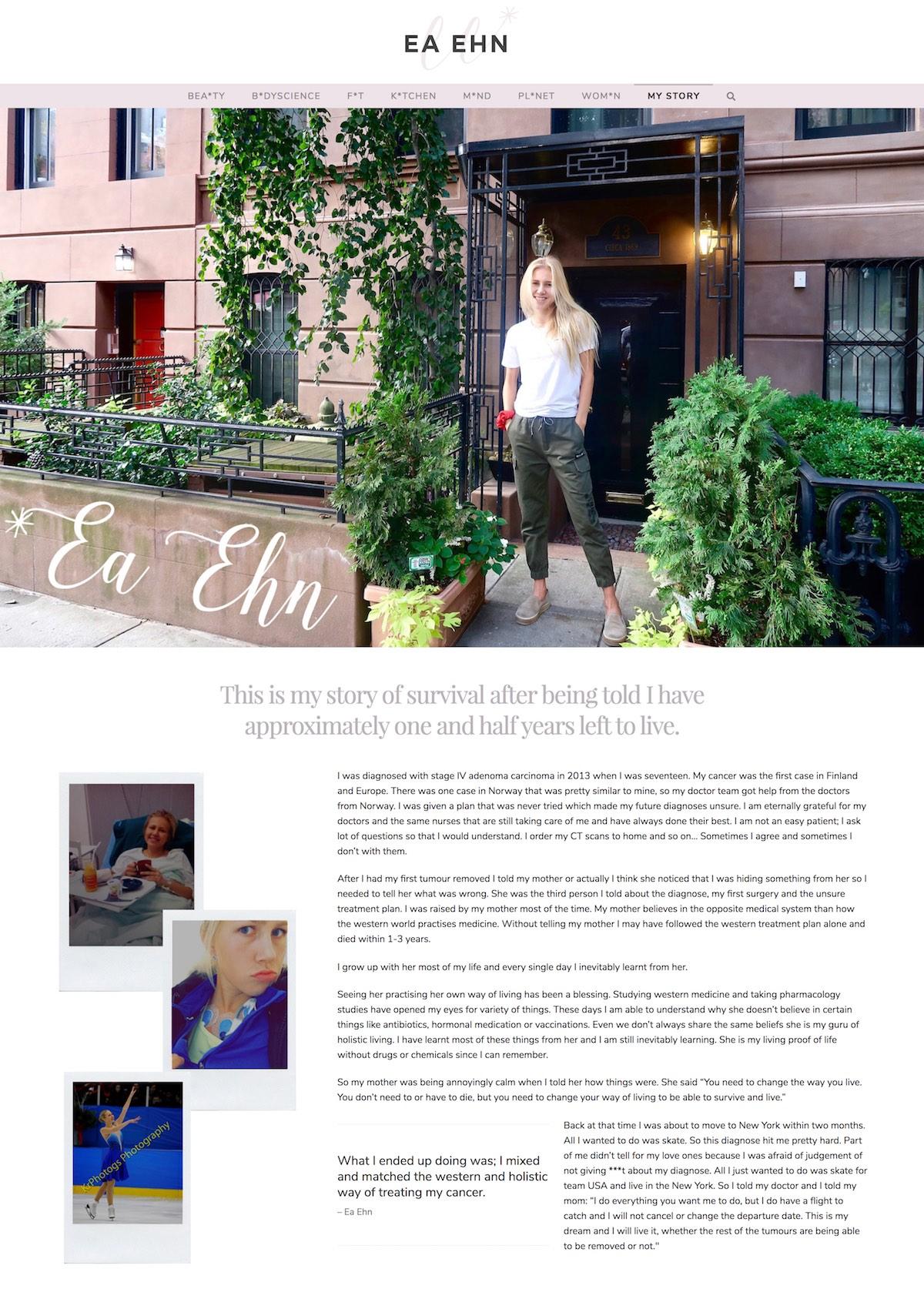eaehn-web-design-for-influencers-in-wellness