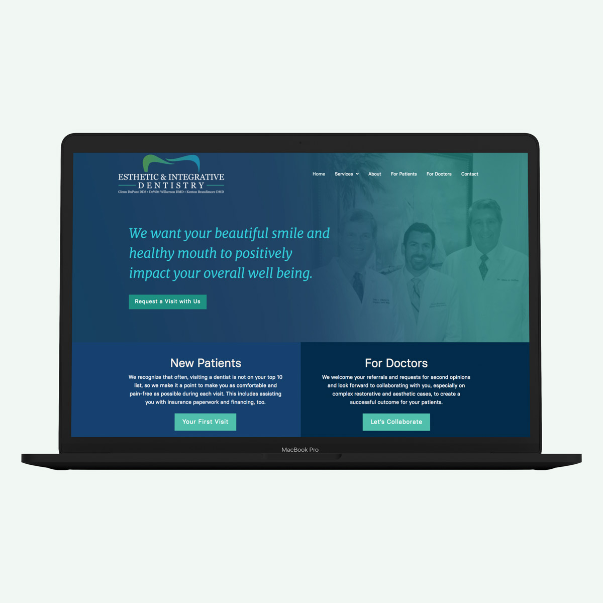 Creative-design-for-dental-office-website-by-Bhakti-Creative